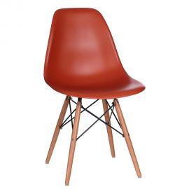 Seturi scaune, HoReCa - Set de 2 scaune design vintage Nordica orange