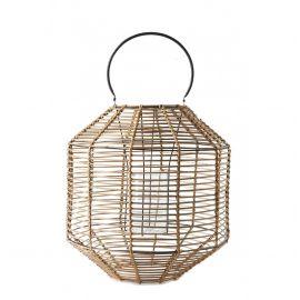 Parfumuri de camera, Idei cadouri, Obiecte decorative - Felinar portabil din bambus Camps Bay L