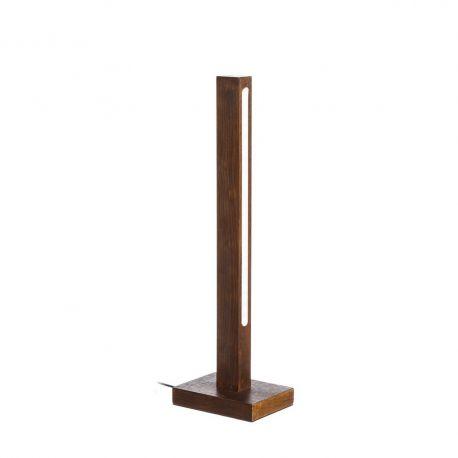 Veioze - Lampa de masa LED Azalee, lemn maro