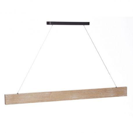 Pendule, Lustre suspendate - Lustra LED Azalee, lemn natur