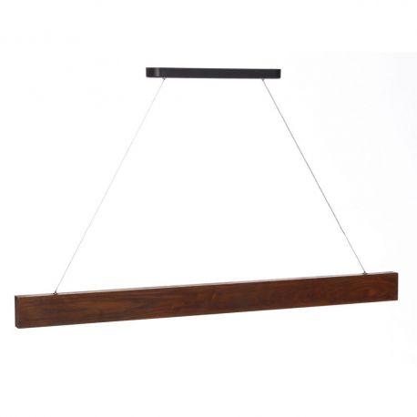 Pendule, Lustre suspendate - Lustra LED Azalee, lemn maro