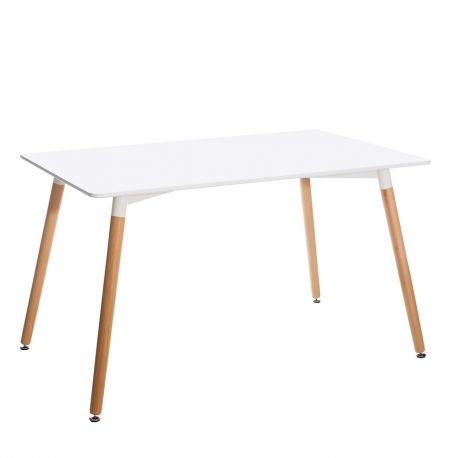 Mese dining - Masa design nordic Souza 130x80cm