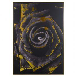 Tablouri - Tablou decorativ Floare neagra 100x140cm