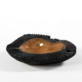 Parfumuri de camera, Idei cadouri, Obiecte decorative - Vas decorativ din lemn Bowl 40, natur/ negru