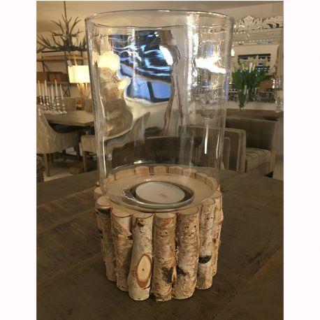 Parfumuri de camera, Idei cadouri, Obiecte decorative - Suport lumanare Birch twigs round