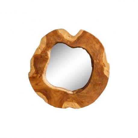 Oglinzi - Oglinda decorativa Wood 40cm