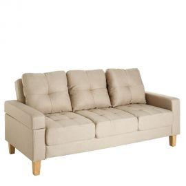 Canapea extensibila 3 locuri Alishia, bej