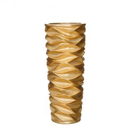 Vaza, Vas decorativ auriu, inaltime 88cm ORO