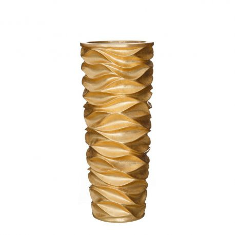Vaze - Vaza, Vas decorativ auriu, inaltime 88cm ORO