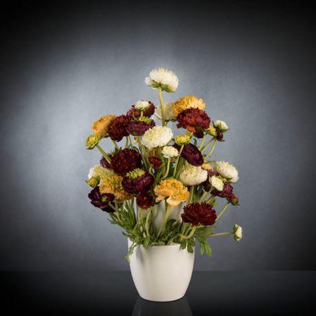 Aranjamente florale LUX - Aranjament floral BABILON RANUNCOLO Small 50cm, multicolor
