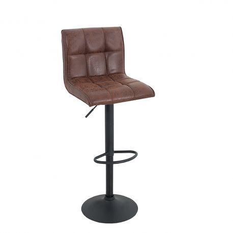 Scaune Bar - Set 2 scaune bar Modena maro vintage