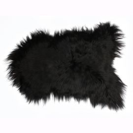 Covor din piele de oaie LW ICELAND 110cm Icelandic Black