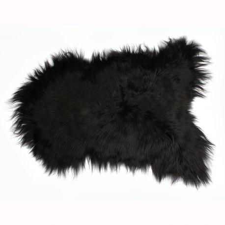Blanuri naturale - Covor din piele de oaie LW ICELAND 110cm Icelandic Black