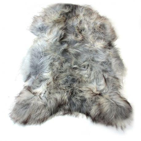 Blanuri naturale - Covor din piele de oaie LW ICELAND 110cm Icelandic Natural Grey