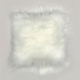 Perna cu piele de oaie LW Iceland 35x35cm Icelandic White
