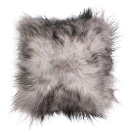 Perne si fete de perne - Perna cu piele de oaie LW Iceland 35x35cm Icelandic SilverDarkTop