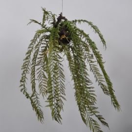 Aranjamente florale LUX - Aranjament floral suspendat GREEN 119cm