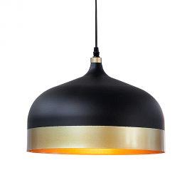 Pendule, Lustre suspendate - Pendul Modern Chic II negru/ auriu