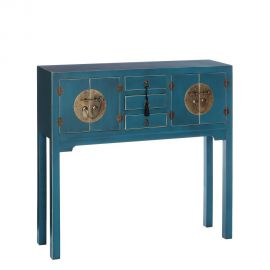 Console - Consola ORIENT, 4 usi albastru