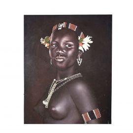 Tablouri - Tablou Negra Semidesnuda, 120x150cm