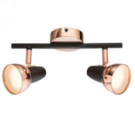 Plafoniere cu spoturi, Spoturi aplicate - Plafoniera LED design modern Tobi 2L