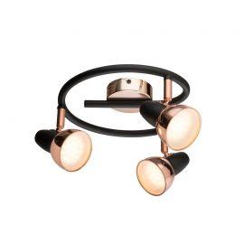 Plafoniere cu spoturi, Spoturi aplicate - Plafoniera LED design modern Tobi 3L