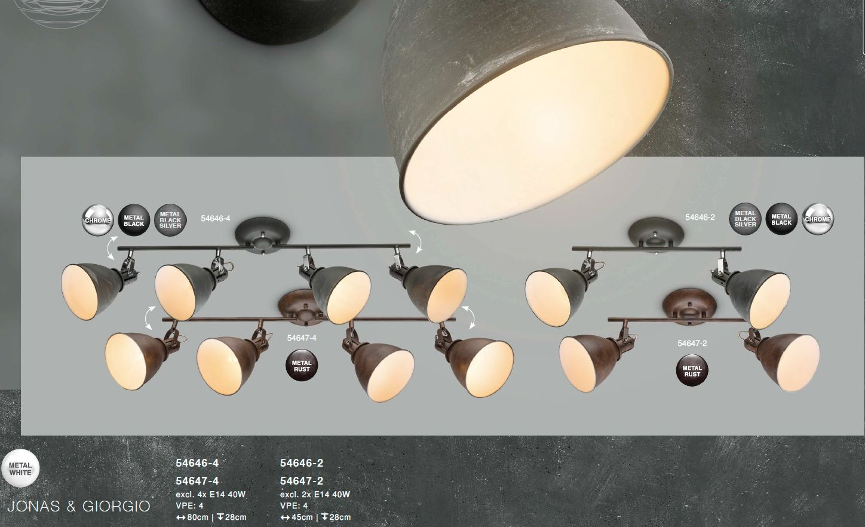 Plafoniere Industrial Style : Corpuri de iluminat plafoniera stil industrial giorgio 4l