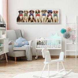 Tablou decorativ Pets, 120x40cm