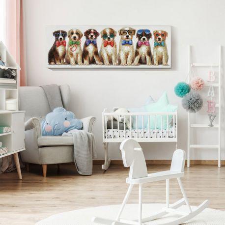Tablouri - Tablou decorativ Pets, 120x40cm