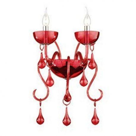 Aplice, corpuri de iluminat pentru pereti - Aplica LILLY AP2 rosso