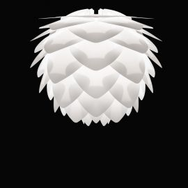 Pendule, Lustre suspendate - Pendul modern Silvia mini 32cm, alb