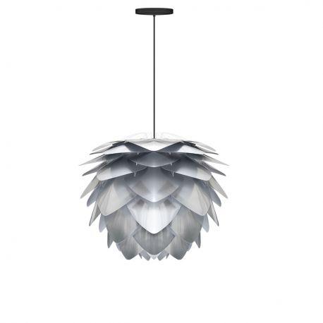 Pendule, Lustre suspendate - Pendul modern Silvia medium 50cm, argintiu