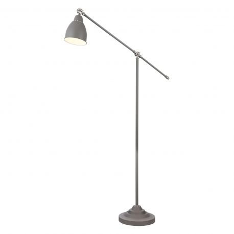 Lampadare - Lampa de podea cu brat articulat Domino, gri