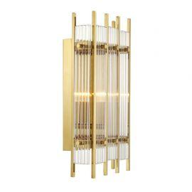 Aplice, corpuri de iluminat pentru pereti - Aplica perete LUX Sparks S auriu