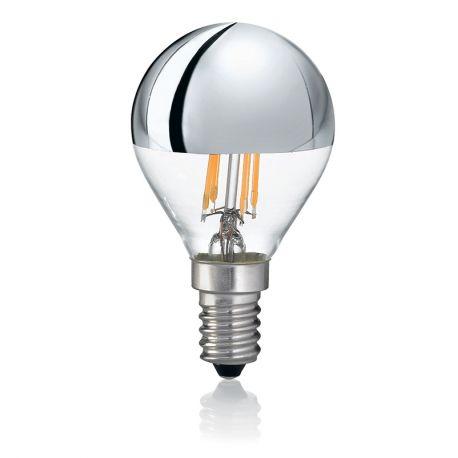 Becuri E14 - Bec LED E14 4W CROMO