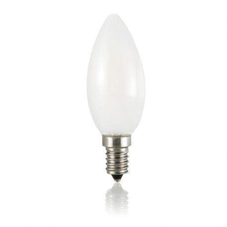 Becuri E14 - Bec LED E14 Oliva Bianco