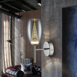 Aplice, corpuri de iluminat pentru pereti - Aplica LED design modern Nebula