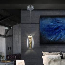 Pendule, Lustre suspendate - Pendul LED design modern Nebula