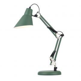 Lampa de masa cu brat articulat Zeppo 136, verde