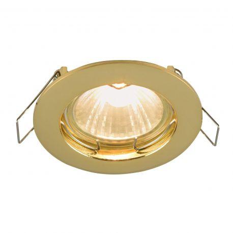 Spoturi tavan fals - Spot incastrabil Metal, auriu