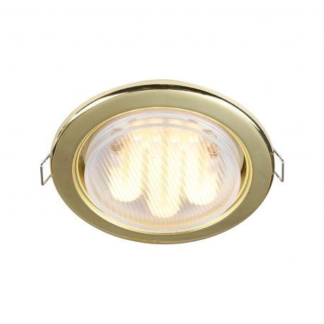 Spoturi tavan fals - Spot incastrabil Metal 10,7cm, auriu