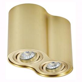 Plafoniere cu spoturi, Spoturi aplicate - Spot aplicat RONDOO SL 2 UP, auriu