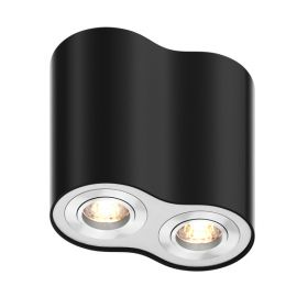 Plafoniere cu spoturi, Spoturi aplicate - Spot aplicat RONDOO SL 2 UP, negru