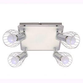 Plafoniere cu spoturi, Spoturi aplicate - Plafoniera cu 4 spoturi OSCAR