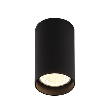 Plafoniere cu spoturi, Spoturi aplicate - Spot aplicat design modern PET ROUND negru