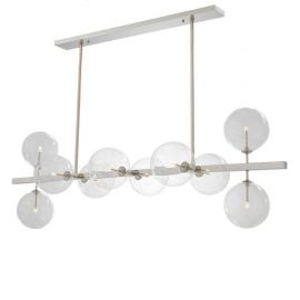 Candelabre, Lustre - Lustra design LUX Largo, nickel