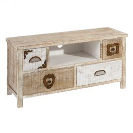 Comoda TV design rustic Liv