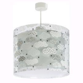 Iluminat pentru copii - Lustra camera copii Clouds gri