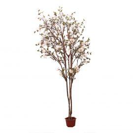 Aranjamente florale LUX - Planta artificiala decorativa Magnolia, 302cm