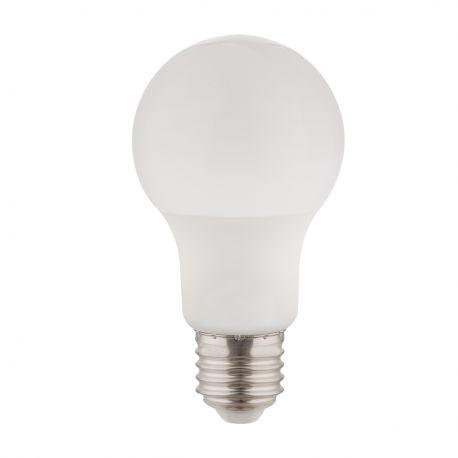 Becuri E27 - Bec LED E27 opal 7W 3000K